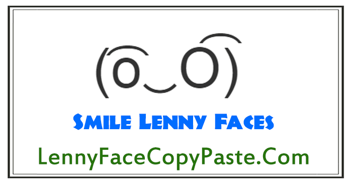 Smiley Lenny Faces